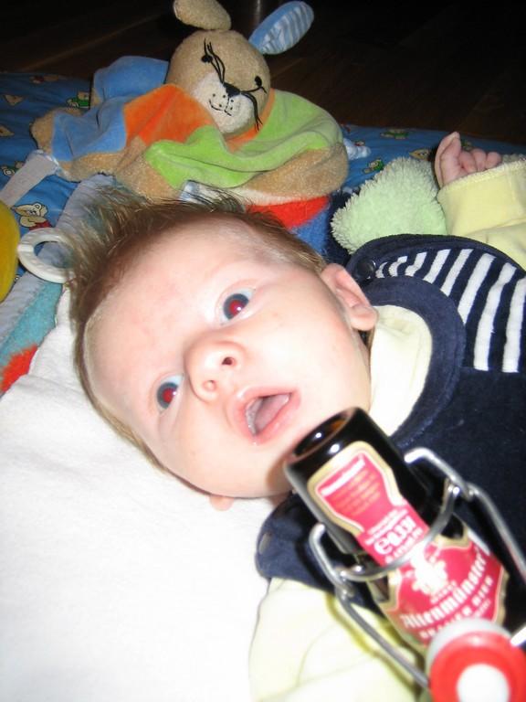 Max am Tag des Bieres