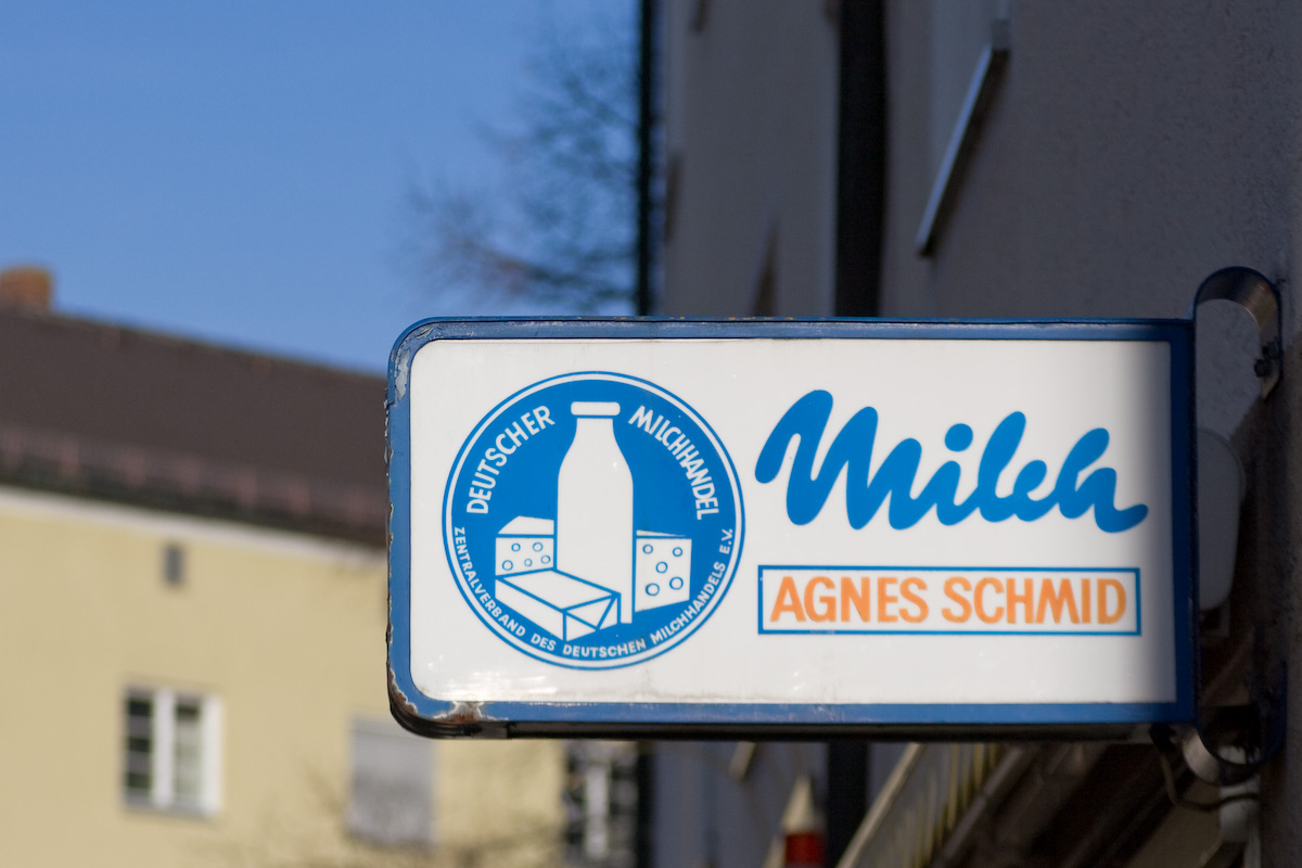 Milchladen in Minga