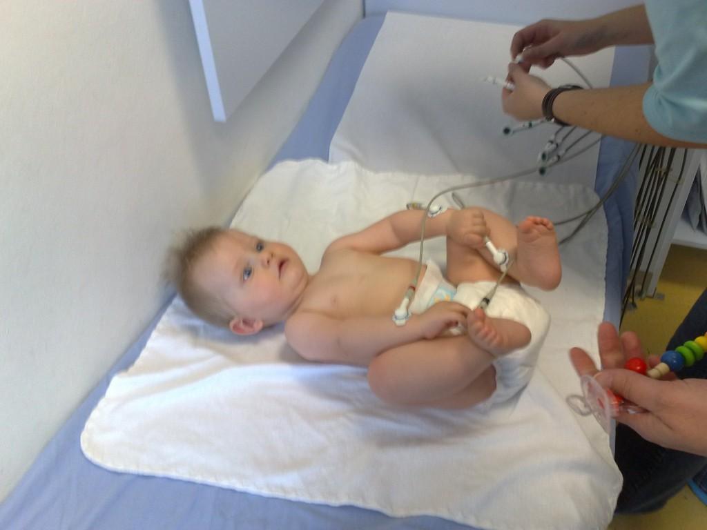 Max beim EKG