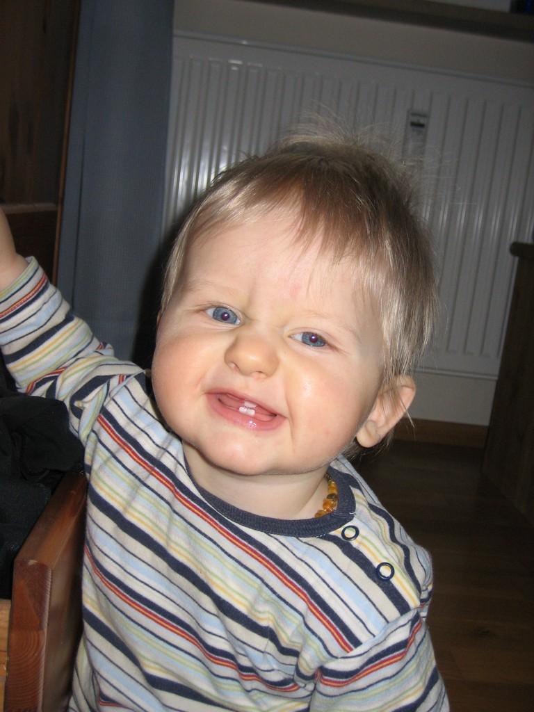 Max dreieinhalb Zähne